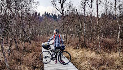Bøllemosen, bikepacking